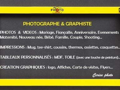 Photographe et graphiste 10,000TND